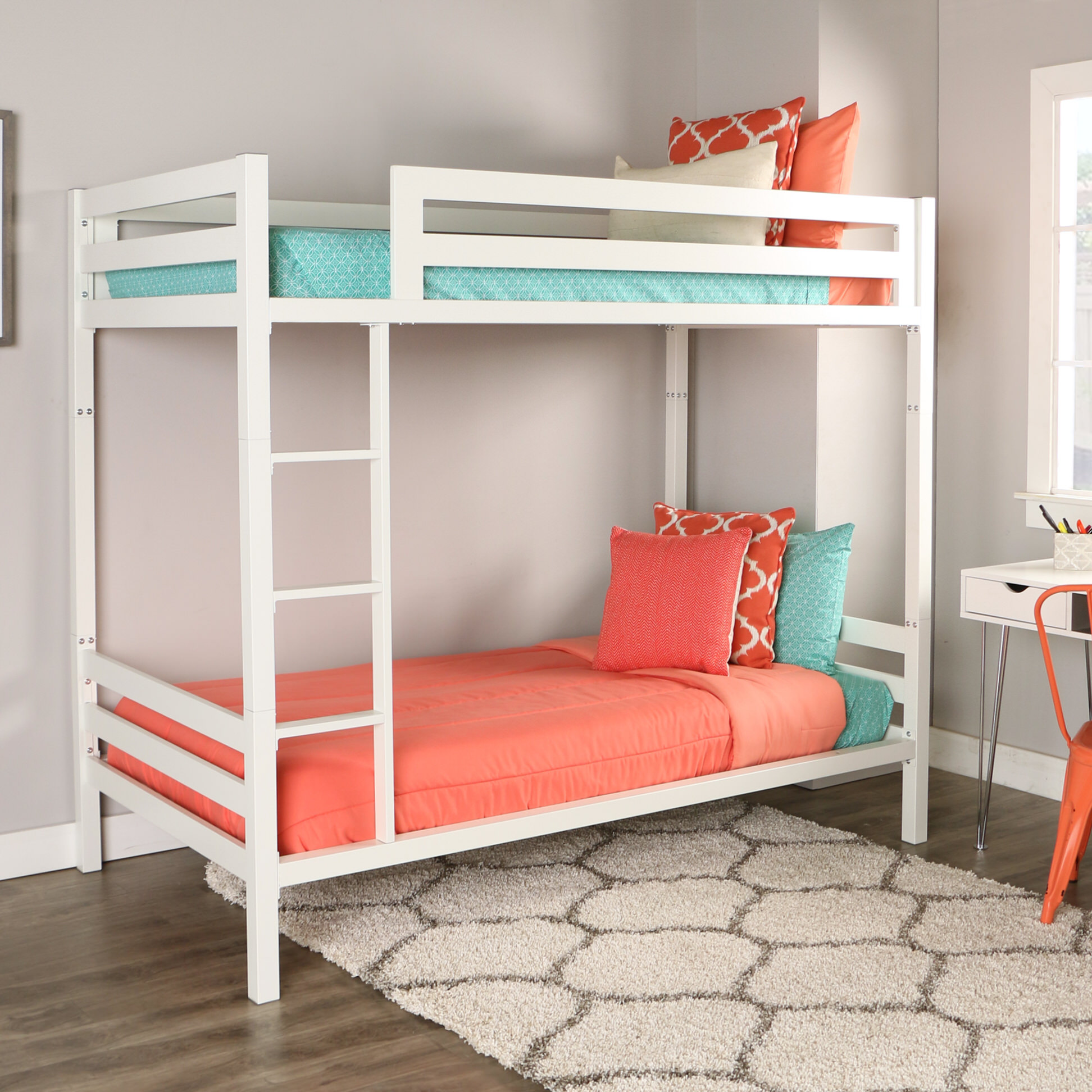Fullsize Of White Bunk Beds