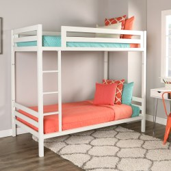 Small Of White Bunk Beds