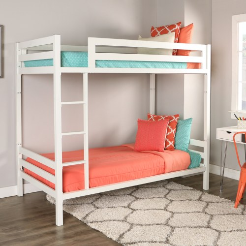 Medium Crop Of White Bunk Beds