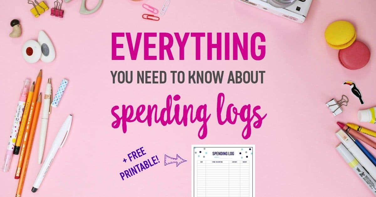 Spending Logs A Complete Guide with a Free Printable