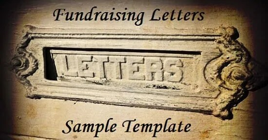 Fundraising Letters Sample Template