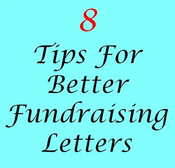 8 Tips For Better Fundraising Letters