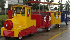 rent childrens party trackless train orange county kids parties rentals