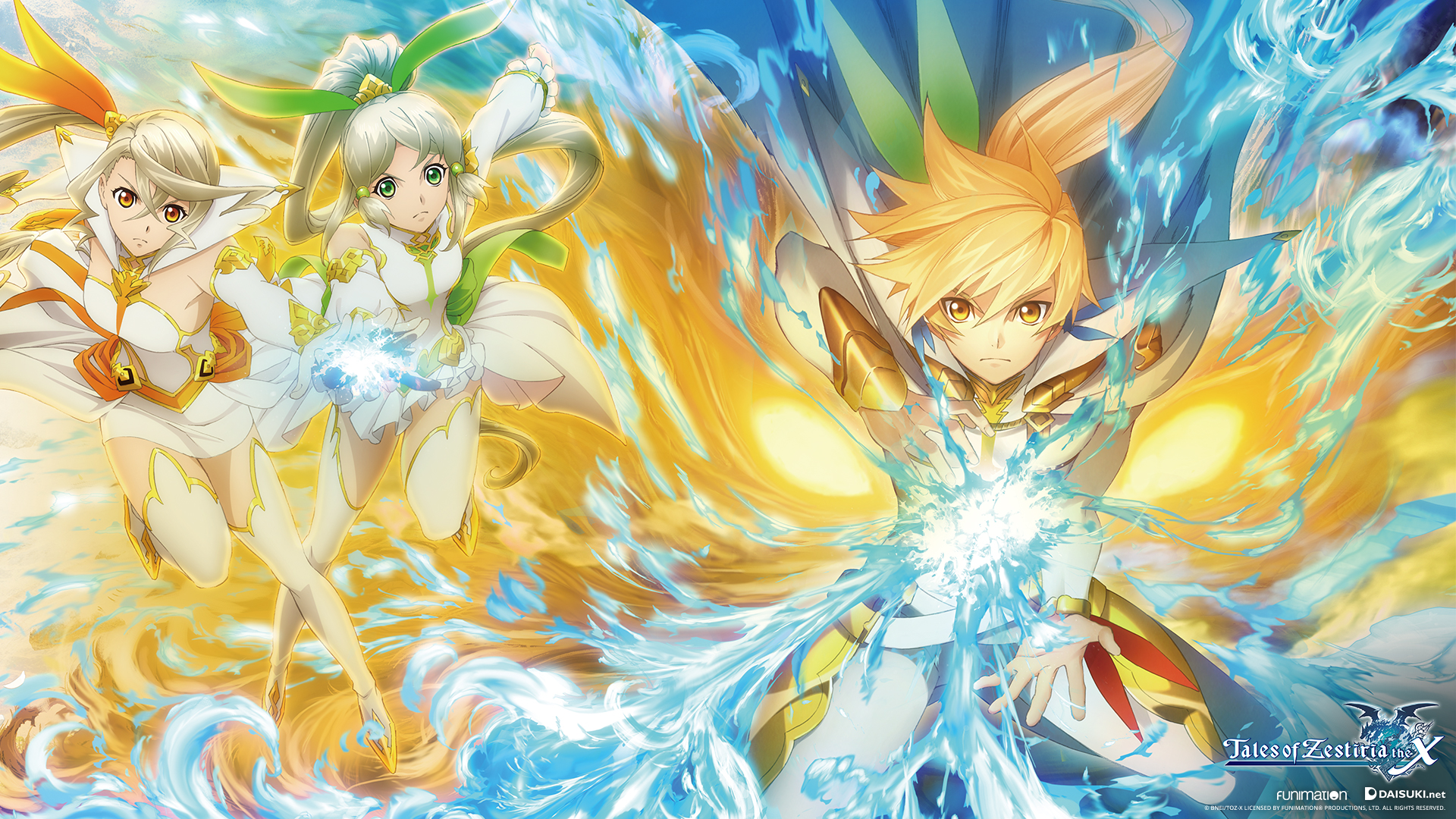 Anime Devil Wallpaper Tales Of Zestiria The X Wallpapers Funimation Blog