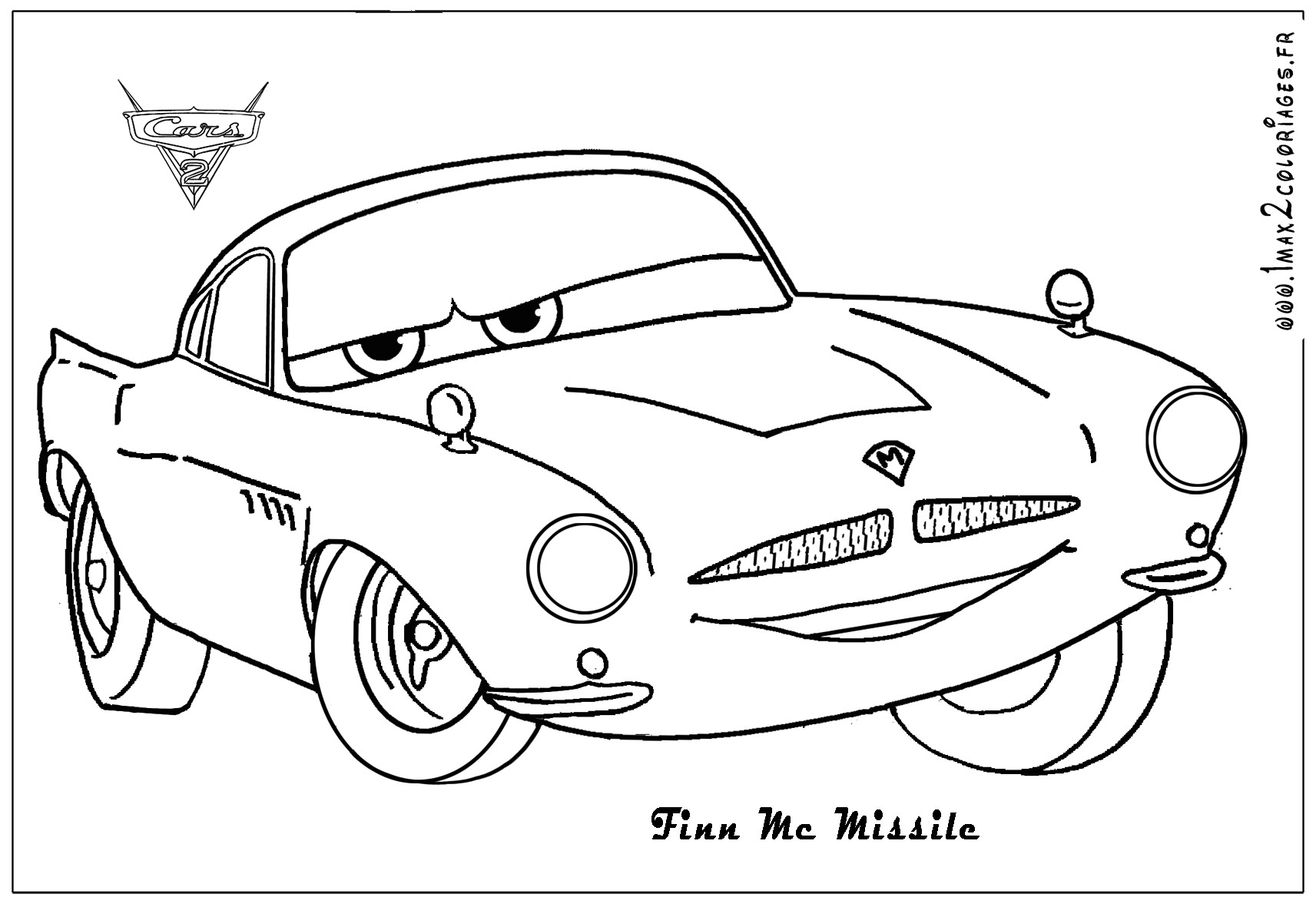 Cars Mack Ausmalbilder : Coloring Pages Of Cars 2 Democraciaejustica