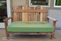 Pallet wood patio chair build - part 2 - Funky Junk ...