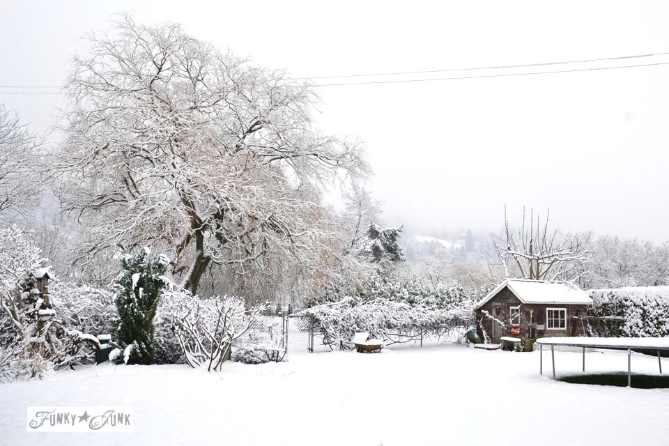Christmas Wallpaper Snow Falling A Merry Christmas Winter Wonderland Shedfunky Junk Interiors