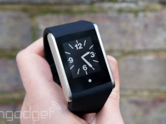 engadget phosphor touchtime smartwatch