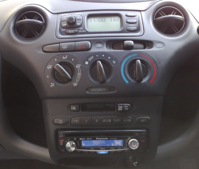 Fitting a CD Player into a Toyota Yaris Cars For Sale Ireland Car