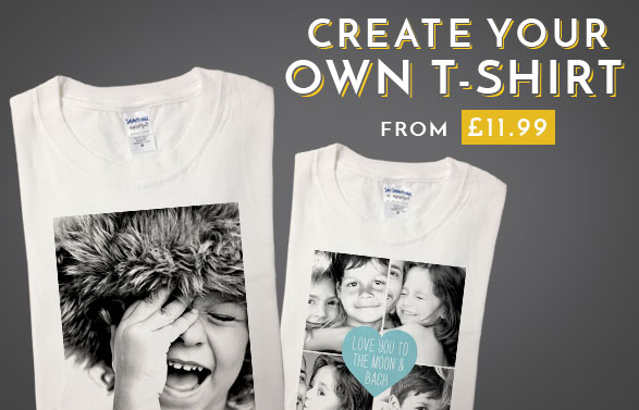 Unique Personalised  Custom T Shirts Create Your Own