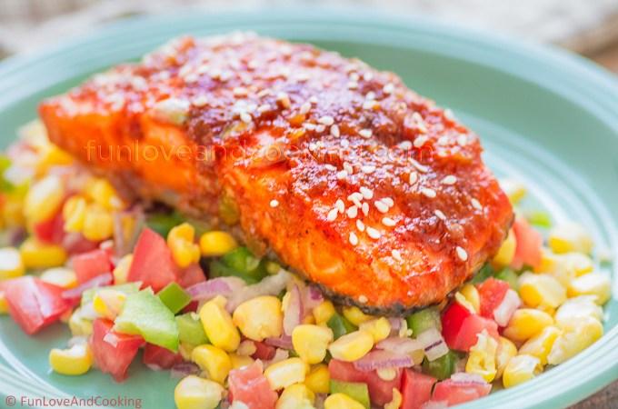 Honey Glazed Salmon –  A Perfect Date Night Recipe