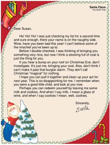 Funny Santa Letters - Children\u0027s Correspondence to and from Father
