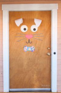 easter classroom doors craft (8)  funnycrafts