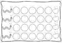 Circles tracing worksheets for kids (4)  Preschool and ...
