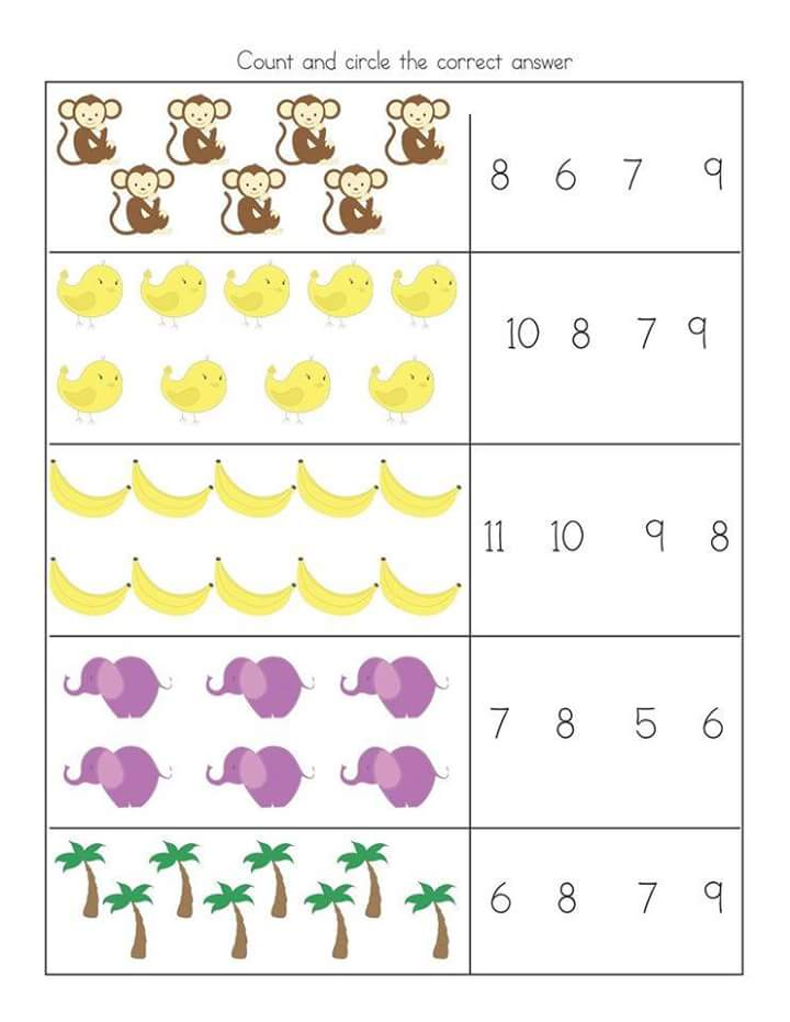 free printable kindergarten subtraction worksheets