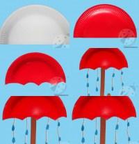 paper-plate-umbrella-crafts-for-kids-4  funnycrafts