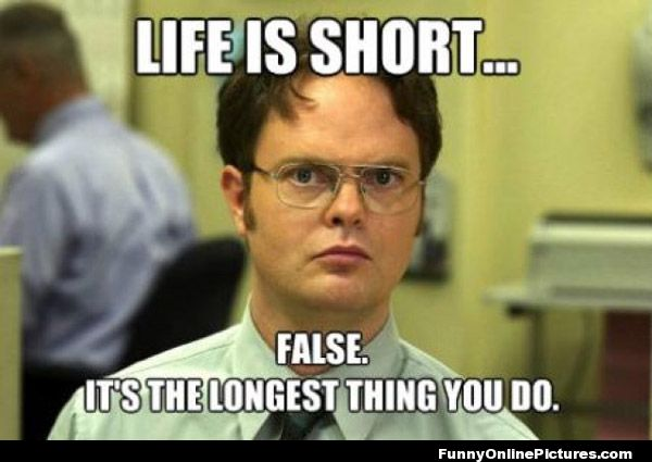 2012 Wikipedia Life Is Short Quot;the Officequot; Meme