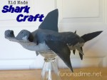 Kid Made Shark Craft {Recycle Art}