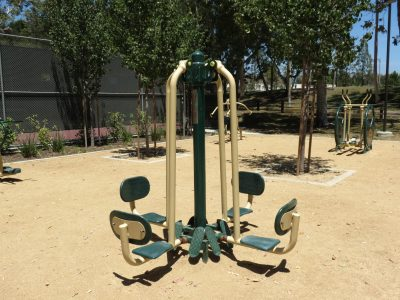 Outdoor Workout Park Equipment