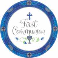 1st Communion Blue - Fun Party Supplies