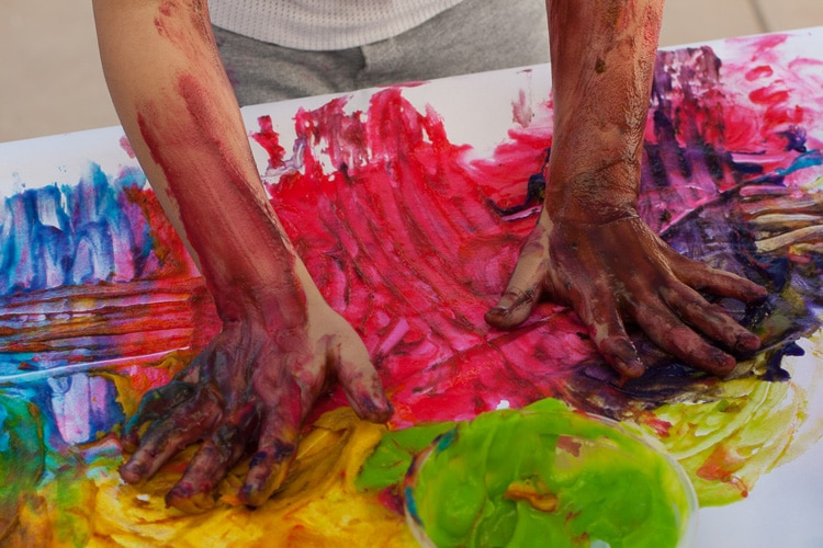 Benefits of Finger Painting
