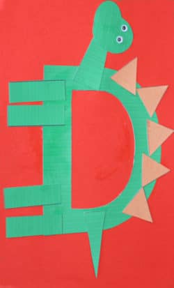Printable Letter D Craft