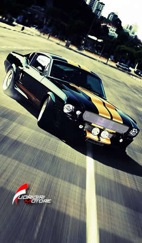 Car Audio Wallpaper Phone Sfondi Smartphone Sfondo Mustang D Epoca Scarica Gratis
