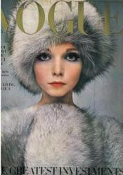 Penelope Tree featured on the cover of Vogue magazine