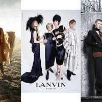 FASHION FANTASY | Fall 2014-Winter 2015 Campaigns - Lanvin, McQueen, Hermès, Prada