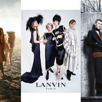 FASHION FANTASY | Fall 2014-Winter 2015 Campaigns - Lanvin, McQueen, Hermès, Prada