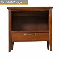 Precious Restored Drexel Walnut Nightstands Pair Mid Century Walnut End Tables From Drexel Mid Century Danish End Tables Mid Century Glass End Tables Pair