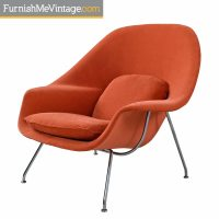 Vintage Eero Saarinen for Knoll Womb Lounge Chair Restored ...