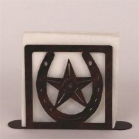 Wrought Iron Horseshoe / Star Collection Paper Towel ...