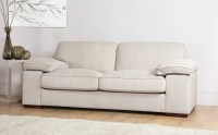 Cassie Linen Fabric Sofa 3 Seater Only 499.99