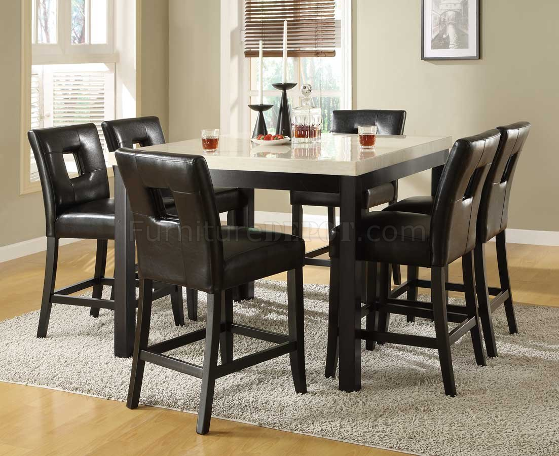 high dining table sets counter height kitchen tables High Gloss Glass Dining Table
