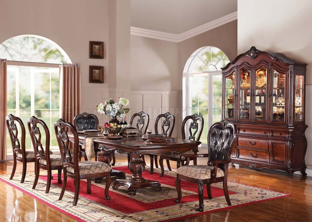 Dining Table With 6 Chairs 7 Pc Set Georgetown Collection CM3222T
