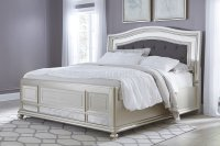 Coralayne B650 Bedroom in Silver Finish by Ashley Furniture