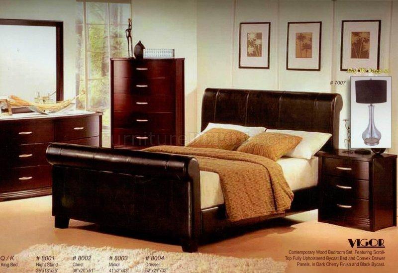 Large Of Dark Modern Bedroom