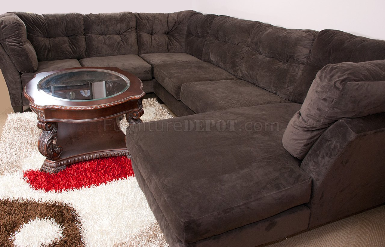 Brown Suede Sofa Used Brown Suede Sofa With Throw Pillow