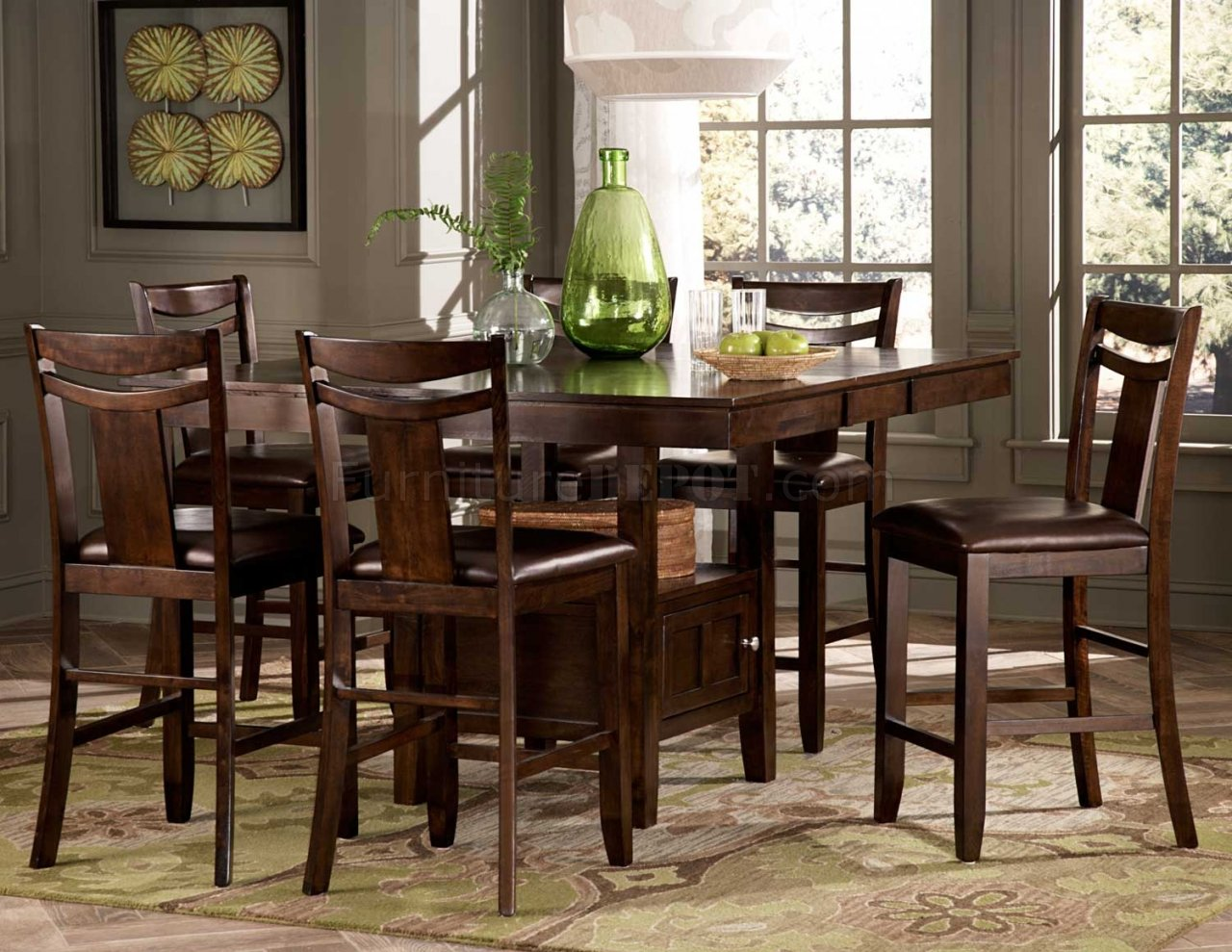 broome counter height dining 5pc set by homelegance p counter height kitchen chairs
