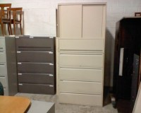 "Used Office File Cabinets : Haworth 5 Drawer 30"" Lateral ..."