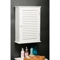 Custom Wooden Bathroom Wall Cabinet In White 3135 Furniture