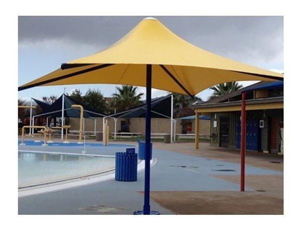 1039 X 1339 Rectangular Water Resistant Horizon Umbrella