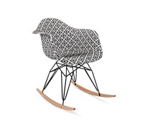 Claudia Rocking Accent Chair | Furniture Lighting & Decor