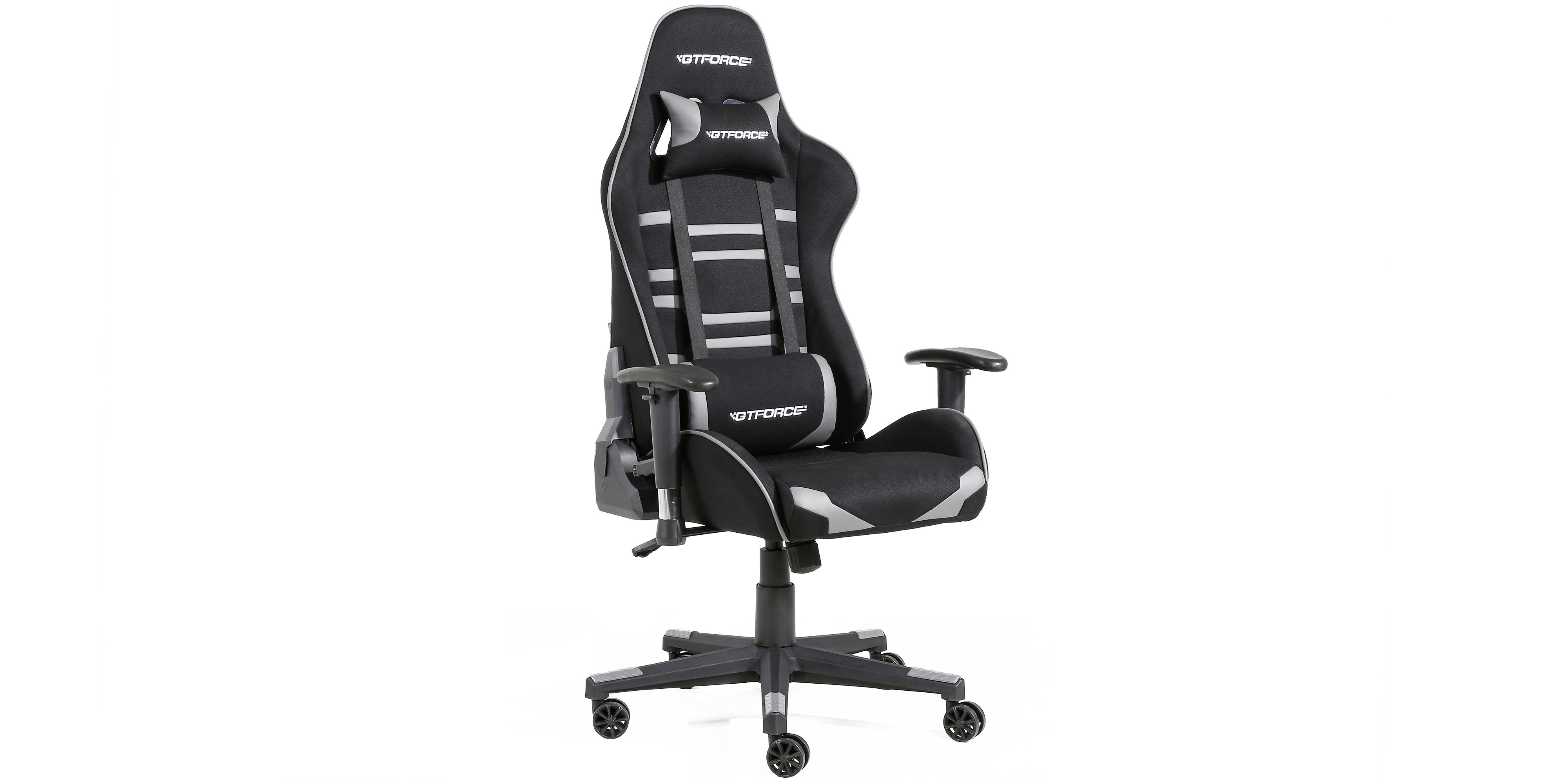 Gtforce Evo Ct Gaming Chair With Recline In Black Grey