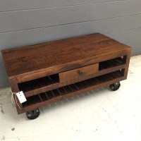 Coffee Table with Wheels - Nadeau Nashville