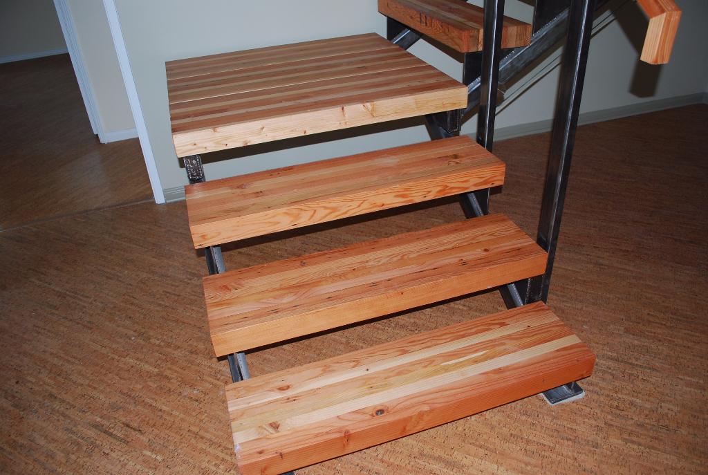 Custom Build Install Wood Stair Treads Furst Woodworks
