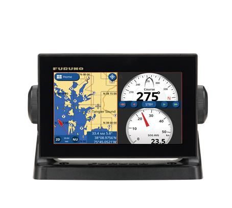 GPS/WAAS CHART PLOTTER with built-in CHIRP FISH FINDER GP-1871F