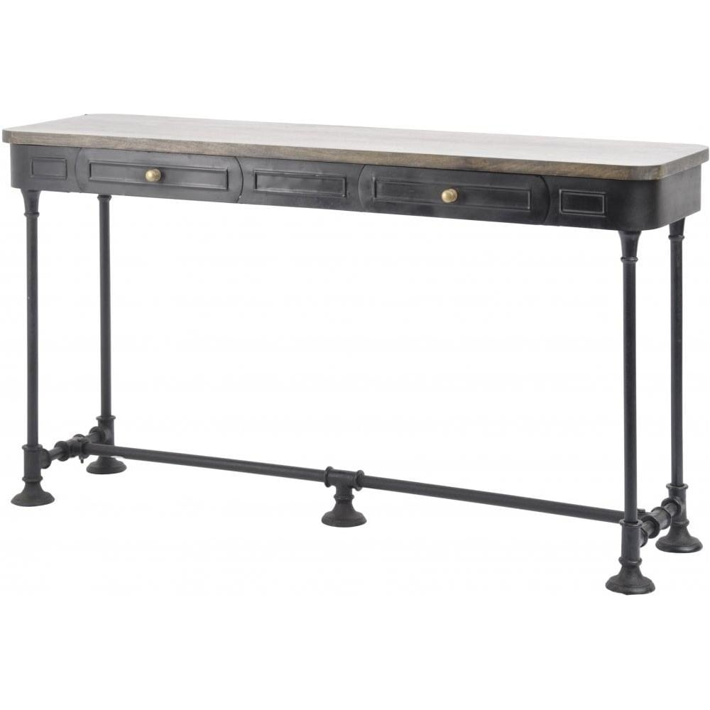 Fullsize Of Industrial Console Table