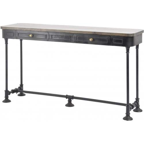 Medium Of Industrial Console Table